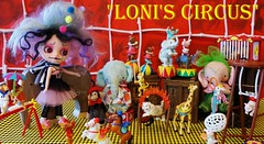 Loni's Circus came to town today
