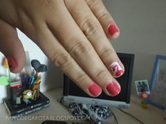 unhas de flamingo    www.pappodegarota.blogspot.com.br (Amanda Peruzzi) Tags: branco penelope flamingo nail rosa nails unhas risque unha colorama