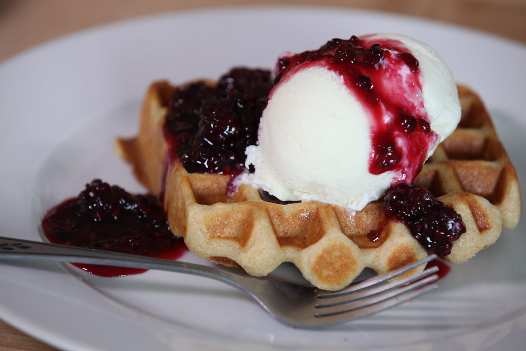 Jeni's Ice Cream! Waffle Recipe by Breville USA, on Flickr