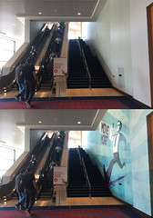 OSCON Move More! (juhansonin) Tags: stairs healthy elevator move more health signage conference oscon axioms juhansonin sarahkaiser movemore healthaxioms