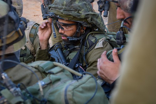 IDF Paratroopers Operate Within Gaza, From FlickrPhotos
