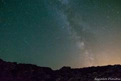 """Shot"" the night (Dimitris_S.) Tags: light sky night stars landscape nikon nightscape tokina greece shooting meteor milkyway polution 1116mm d5200 astroscape"