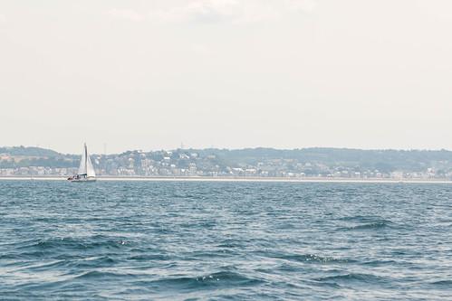 Voilier sur la mer