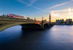 Typical Big Ben (Campana Valentin) Tags: uk longexposure sunset london westminster architecture cityscape bigben palace typic digitalblending
