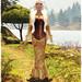 Glitterati by Sapphire -Lara Corset Gown - Buttercup