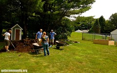 Sustain-A-Raiser in Mirror Lake, NH (G.A.L.A.) Tags: lake mirror solar clothesline gala compostbin raisedgardenbed permablitz sustainaraiser