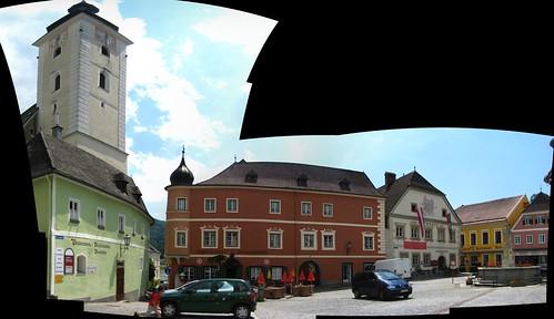 Stadtplatz, Grein, Austria