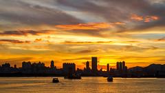 觀塘海濱 | Kwun Tong Seaside (TommyYeung) Tags: sunset hongkong afterglow lovelycity theunforgettablepicturespost1comment3