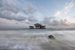 Brighton Low Tide (Alex Bamford) Tags: longexposure brighton westpier lowtide wreck alexbamford wwwalexbamfordcom alexbamfordcom