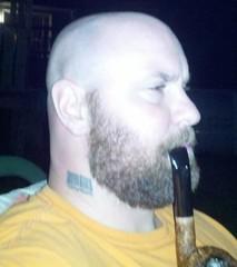 Dat beard. Ahhh.... (orbit092) Tags: bear beard pipesmoker hairyguys gayflickr