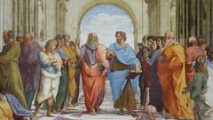 Raphael, Plato and Aristotle