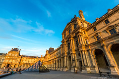 20140623paris-399 (olvwu | ) Tags: city longexposure light sunset sky cloud paris france reflection museum night landscape dusk  musedulouvre louvremuseum    jungpangwu oliverwu oliverjpwu olvwu   jungpang