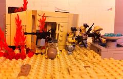 Modern combat: ambushed (tyfighter07) Tags: lego ambush moc moderncombat brickbuilder7