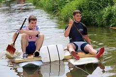 Crazy Raft Race _ 022 (lens buddy) Tags: uk england wet somerset rafting raft watersports fancydress cameraclub summergames langport thorney canoneosdigital crazyrafting lowlandgames2014