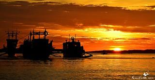 Sunset at Caluya, Antique Philippines