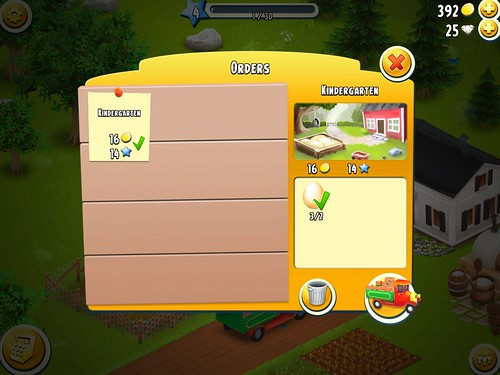 Hay Day Missions: screenshots, UI