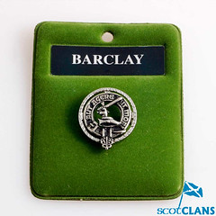 Clan Crest Pewter Badge