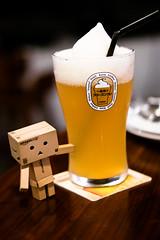 Kirin Ichiban Frozen Beer (Lime Flavor) (Rickloh) Tags: frozen singapore bokeh character rick samsung foodporn foam kirin sg refreshing nx danbo kirinichiban kirinbeer nx30 samsungnx beyondbokeh rickloh foodrickeats nxsg kirinichibanfrozenbeer