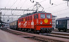 SOB Ae477 910 (maurizio messa) Tags: railroad advertising switzerland railway trains svizzera bahn mau sponsor sob schwyz pubblicità ferrovia treni werbe yashicafxd holzroller br242 ae477