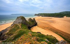 Three Cliffs Bay (Peter Ireland) Tags: southwales landscapes 5d threecliffs threecliffsbay gowerpeninsular