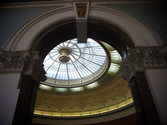 Glass Ceiling (lkeogan89) Tags: art glass museum birmingham gallery arch ceiling stained ornate