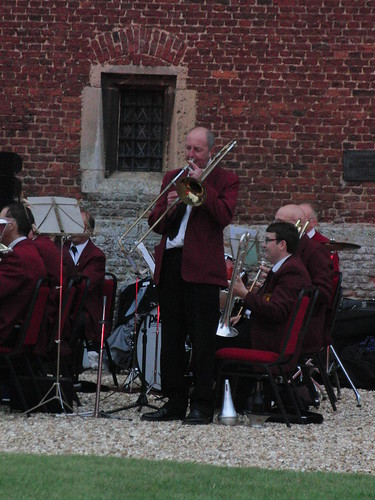 Tattershall Castle - Richard Walker playing 'The Laughing Trombone'.