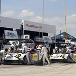 Porsche North America Twin Pit Stops