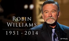 Robin Williams - May you Rest In Peace by !efatima, on Flickr