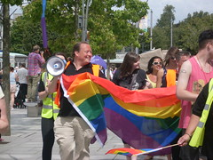 "Plymouth LGBT Pride Parade 2014 • <a style=""font-size:0.8em;"" href=""https://www.flickr.com/photos/66700933@N06/14896398033/"" target=""_blank"">View on Flickr</a>"