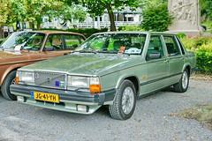 Volvo 760 GLE 10.8.2014 2370 (orangevolvobusdriver4u) Tags: auto classic netherlands car vintage volvo belgium belgique oldtimer spa belgien 2014 740 volvo740 760 klassik volvo760 archiv2014 sidecode4 jg41yh