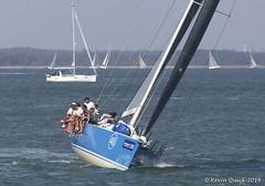 Cowes Week 2014 (leightonian) Tags: uk island boat sailing unitedkingdom yacht isleofwight solent gb yarmouth isle wight cowesweek iow fortvictoria bluesail nryarmouth