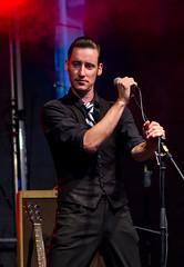 Preston - Mr. Twist (blumenbiene) Tags: mr twist mister rocknroll rock n roll band live musik music konzert concert preston