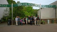 Australian Group at Milngavie Start Point