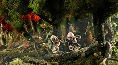 Stormtroopers behind enemy lines (Shobrick) Tags: star lego rifle jungle stormtrooper wars minifig shobrick