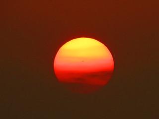 Close Up Setting Sun   (Explore 11/9/14)