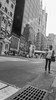 Hailing a Taxi (Ginger Snaps Photography) Tags: life street new york city shopping lumix taxi hailing fz200