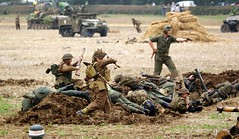 British Troops (MJ_100) Tags: infantry army military wwii battle ww2 soldiers britisharmy reenactment troops reenactors secondworldwar 2014 victoryshow