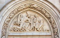 Princeton Chapel Scene (Steve from NJ) Tags: nj chapel carving princeton