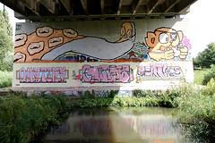 graffiti (wojofoto) Tags: streetart amsterdam graffiti hof flevopark amsterdamsebrug wojofoto omatiks