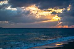 First rays 1/2 (Siminis) Tags: light sunrise greece crete sunrays heraklio cloudysunrise firstrays siminis