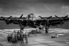 """Lancaster NX611 """"Just Jane"""" (AdrianH Photography) Tags: nikon aircraft aviation lincolnshire warbirds aeroplanes eastkirkby nx611"""