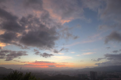 IMG_0103_105  HDR (vicjuan) Tags: sunset cloud geotagged taiwan  taipei101  hdr typhoon   101  tonemapping sijhih newtaipei   20140920 geo:lat=25053344 geo:lon=121662751