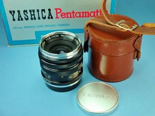Yashica Pentamatic 35 mm Lens Set