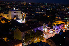 Kragujevac nocu (Slavoljub Radojevi) Tags: panorama color night serbia grad slava noc srbija kragujevac centar suamdija slavakg