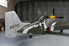 North American P-51D Mustang - 1 (NickJ 1972) Tags: museum day aviation duxford practice mustang p51 2014 iwm northamerican ferociousfrankie gbtcd 413704 b7h