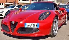 Alfa Romeo 4C (Charles Dawson) Tags: alfaromeo worldcars alfaromeo4c autoitalia2014