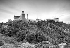 long point lighthouse (csnyder103) Tags: lighthouse monochrome newfoundland longpointlighthouse twillingateisland 1dmkiii tokina1628f28