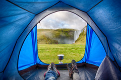 South Iceland-75 (brendanvanson) Tags: travel fall tourism nature outdoors landscapes waterfall iceland europe pov cascade skogafoss southiceland