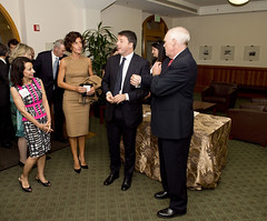 Il Presidente  Renzi alla Stanford University (21/09/2014)