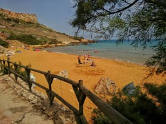San Blas Bay Gozo (Meldarion) Tags: malta gozo san blass blas bay sew sea outdoor sunny swim sand rocky beach nature seascape mediterranean summer